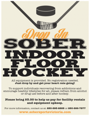 Sober Floor Hockey